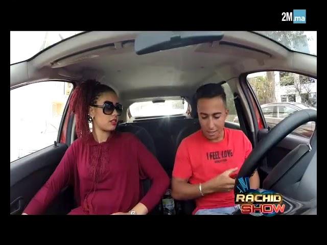 """أيمن السرحاني يشتغل سائق تاكسي في الدار البيضاء في """"رشيد شو"""""""