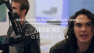 ARMORS - (live) GENESIS - WE FOUND NEW MUSIC with GRANT OWENS