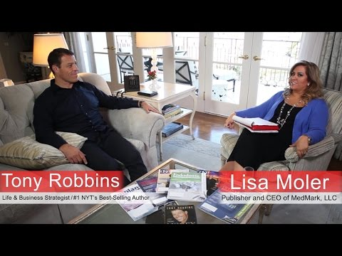 MedMark llc., meets Tony Robbins FULL INTERVIEW