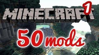 [HD FR] Minecraft l'aventure avec 50 mods ! Ep 1: Pour l'instant ça commence bien