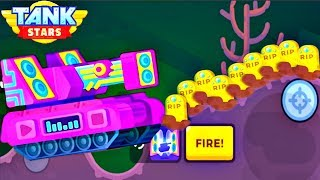 Tank Stars Update - New DUBSTEP Tank Tournament  | All Boosters | (iOS, Android)