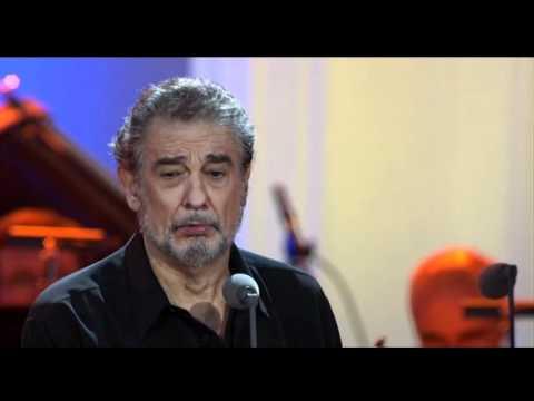 """Plácido Domingo sings """"Non ti scordar di me"""" from Ernesto de Curtis"""