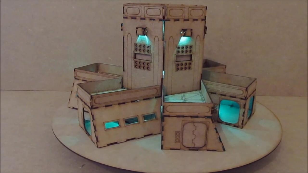Wargame Model Mods Command Centre 28mm Warhammer