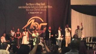 Tshepiso Motaung with Sandton AOG Worship Team - Nkosi Sihlangene/Oa halalela Medley