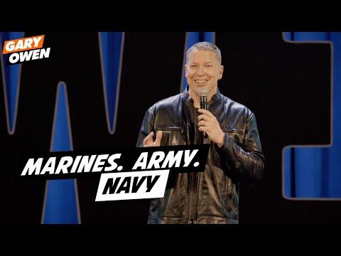 Marines. Army. Navy