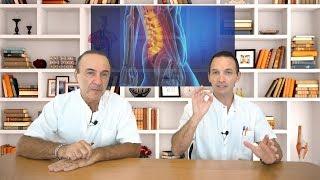 Disco lumbar por hernia de dolor cadera de
