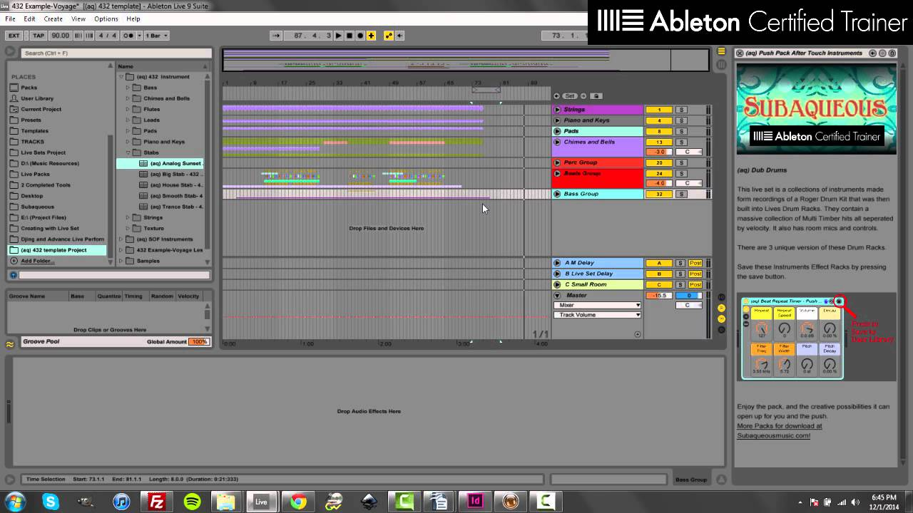 Ultimate Guide to 432 - Using Ableton Live - Subaqueous Music