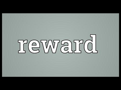 Reward Meaning