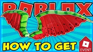 [EVENT] HOW TO GET THE WATERMELON WINGS GRAND PRIZE IN PIZZA PARTY EVENT (Roblox)