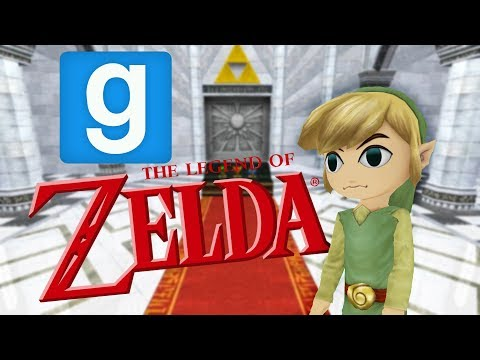 Gmod Hide and Seek: The Legend of Zelda - Breath of the Win! (Comedy Gaming)