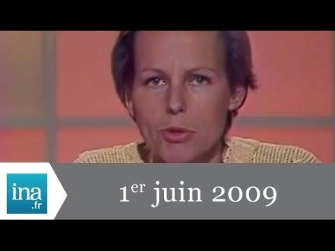 20h France 2 du 1er juin 2009 - le vol AF 447 a disparu - Archive INA