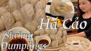Cách làm há cảo thơm ngon chuẩn vị người Hoa - Har Gao shrimp dumpling - Taylor Recipes