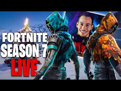 ΠΡΩΤΗ ΦΟΡΑ ΣΤΟ SEASON 7 LIVE FORTNITE BATTLE PASS !!!