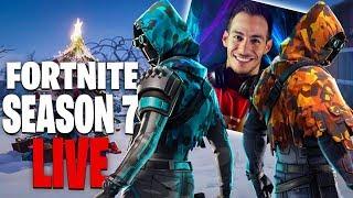 ΠΡΩΤΗ ΦΟΡΑ ΣΤΟ SEASON 7 LIVE FORTNITE BATTLE PASS !!!