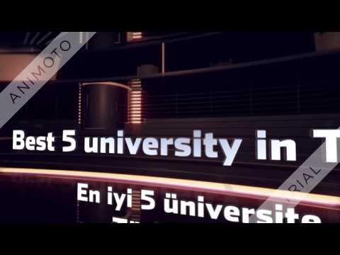 Best 5 University in Turkey - En iyi 5 Üniversite Türkiye'de