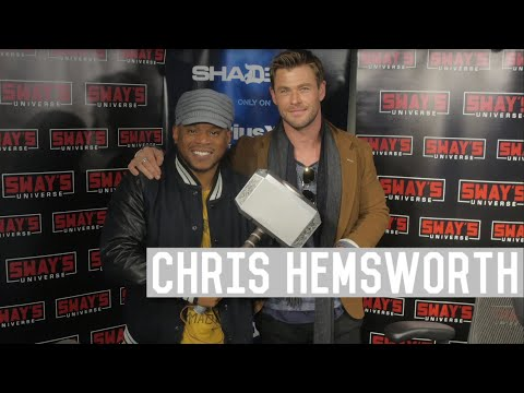 "Chris Hemsworth Talks About Thor As A Sex Symbol, Miley Cyrus and His New Film ""12 Strong"""