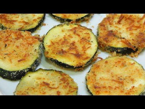 Receta fácil de calabacín con un gratinado crujiente de queso