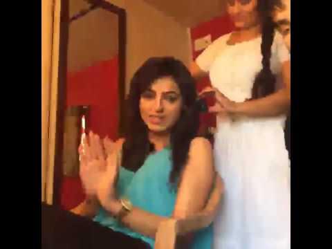 Fun on Set of Bhabi Thodi End Aa || Parmish verma || Ginni Kapoor || Resham Singh Anmol
