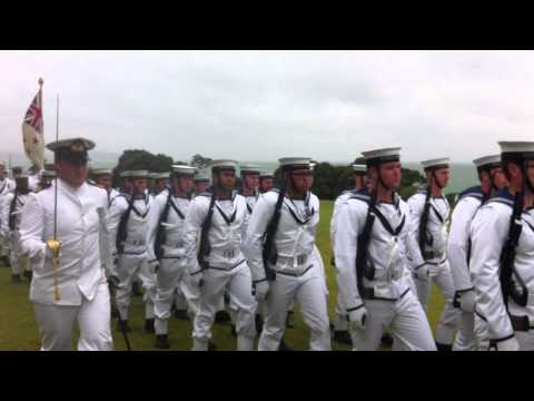 Royal New Zealand Navy Band and Guard of Honor