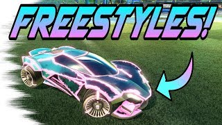 Rocket League Goals: FREESTYLES with the WEREWOLF CAR! (New Victory Crate Goals/Fakes)