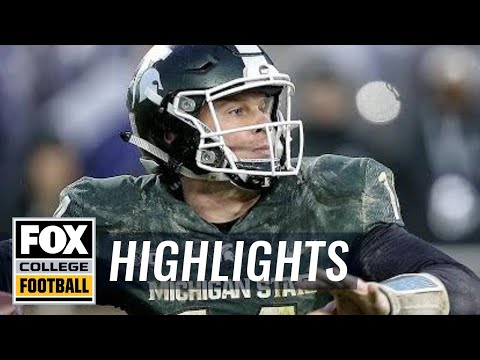Michigan State vs Penn State | Highlights | FOX COLLEGE FOOTBALL