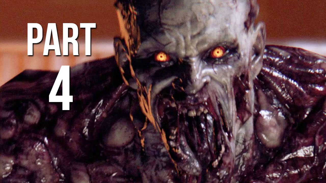 Dying light gameplay walkthrough part 4 ps4 pc night time zombies