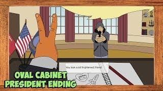 Helping Hand Full Game Walkthrough Oval Cabinet Ending (President Ending)