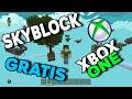 Mapa SkyBlock Gratis Minecraft Xbox One/Windows 10 - YouTube