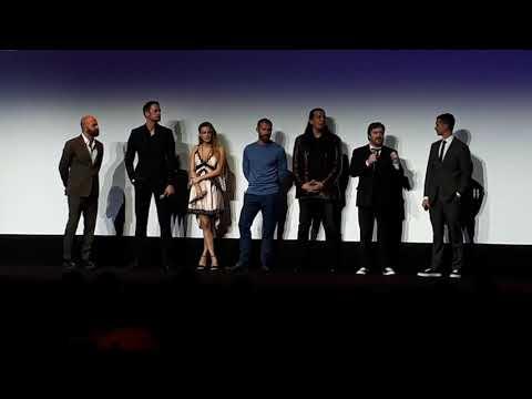 Hold The Dark Q&A after premier at TIFF18 Alexander Skarsgård, James Badge Dale, Jeffrey Wright