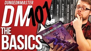 DM 101 - Episode 1: The Basics (Dungeons & Dragons Help)