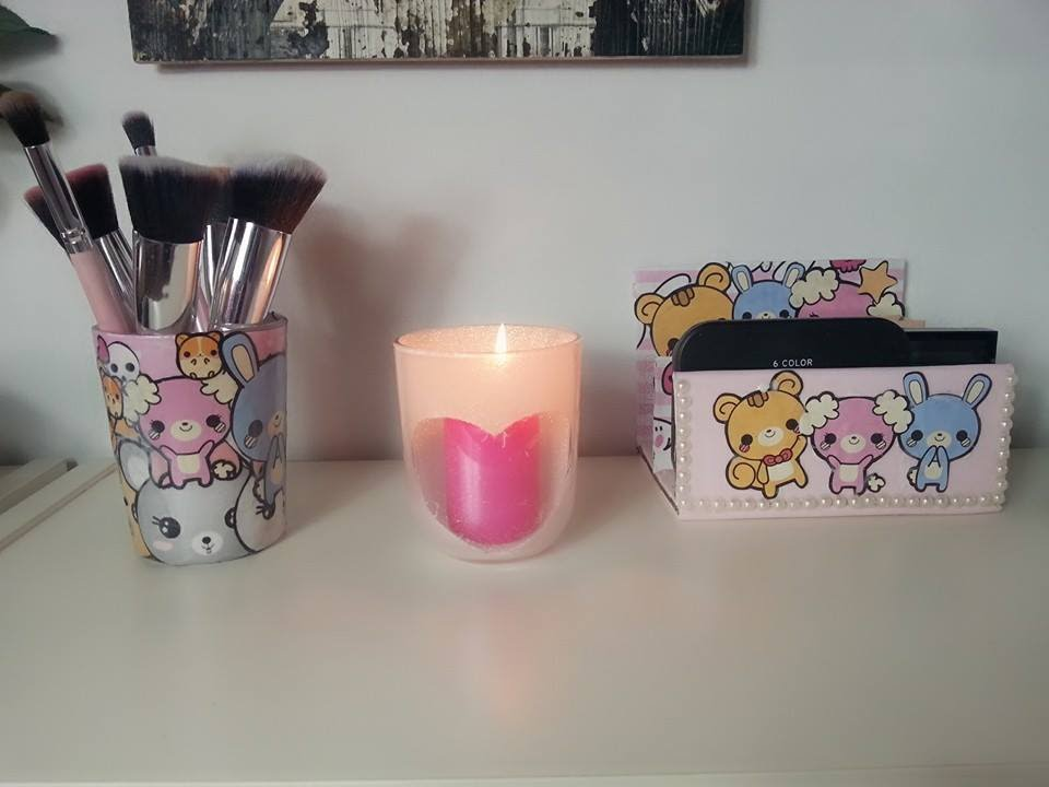 3 ideas para decorar tipo kawaii youtube for Manualidades para decorar tu cuarto