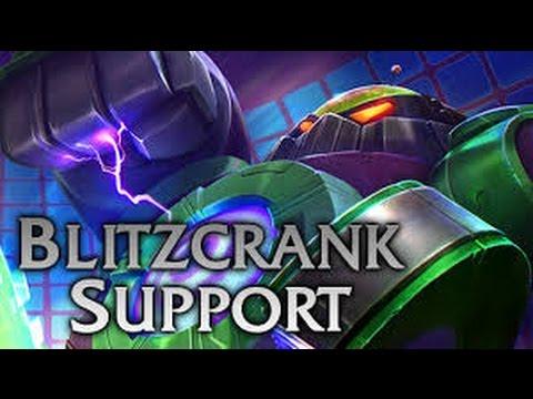 Blitzcrank Support Blind Hook