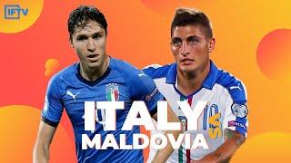 ITALY VS MOLDOVA LIVE STREAM GOAL REACTIONS