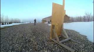 "Spudchukker Iii - Potato Vs. 3/4"" Plywood - 240fps"