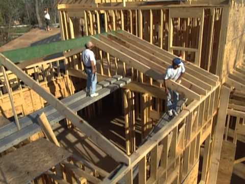 How to Frame the Roof - Low Country Victorian Home - Bob Vil