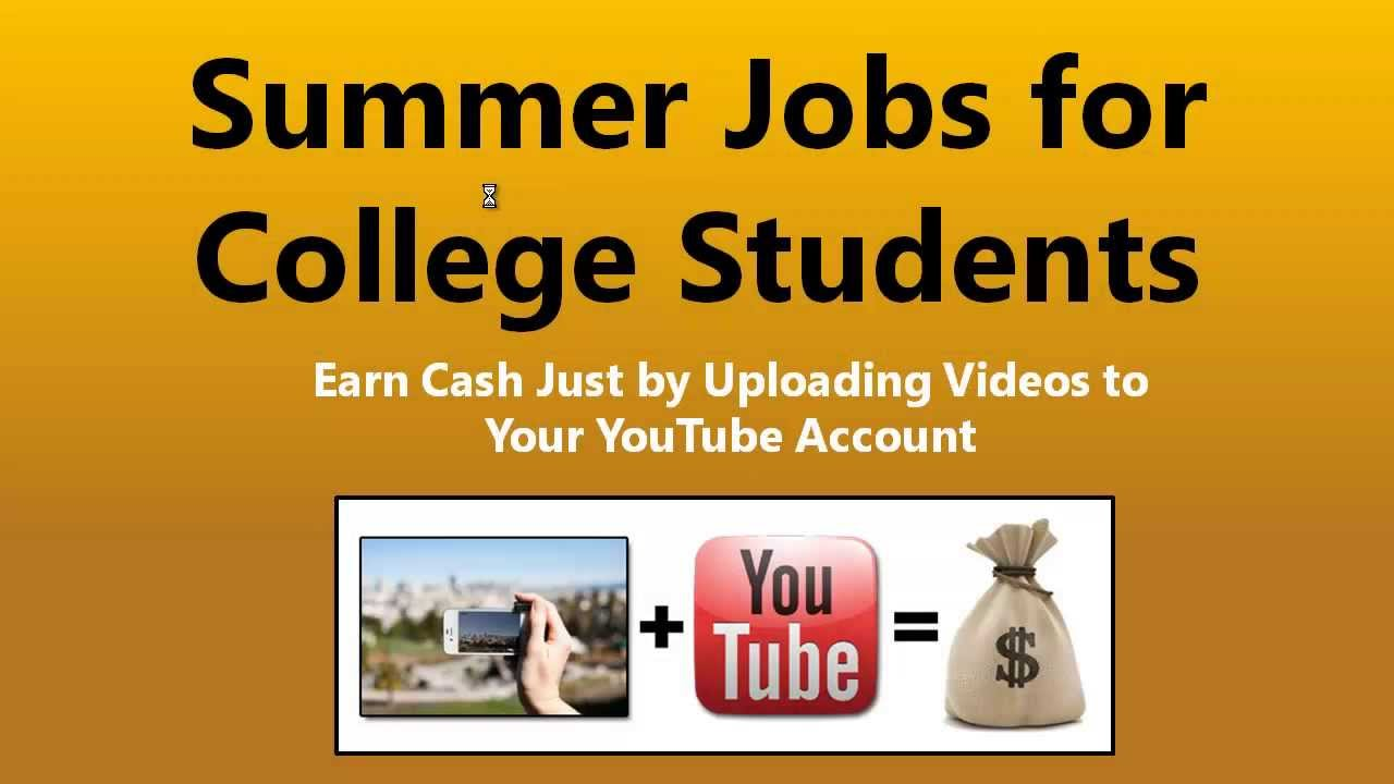 summer jobs for college students  u2014 the best part time jobs
