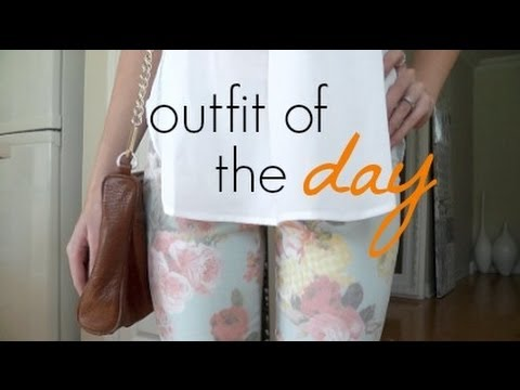 ♡ Outfit of the Day - Casual & Feminine ♡