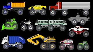 Monster Vehicles 2 - Monster Construction & S...