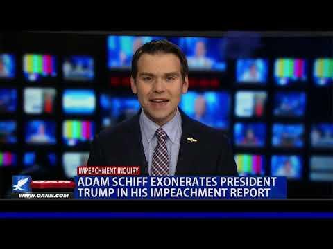 Rep. Schiff exonerates President Trump in his impeachment report