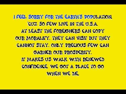Bad Religion - American Jesus (karaoke video)