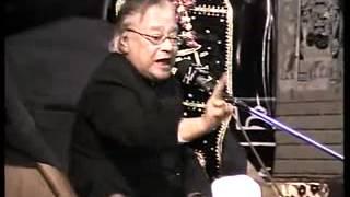 Allama Talib Johri & Nadeen Sarwar 2011(NAWABSHAH) 3/9