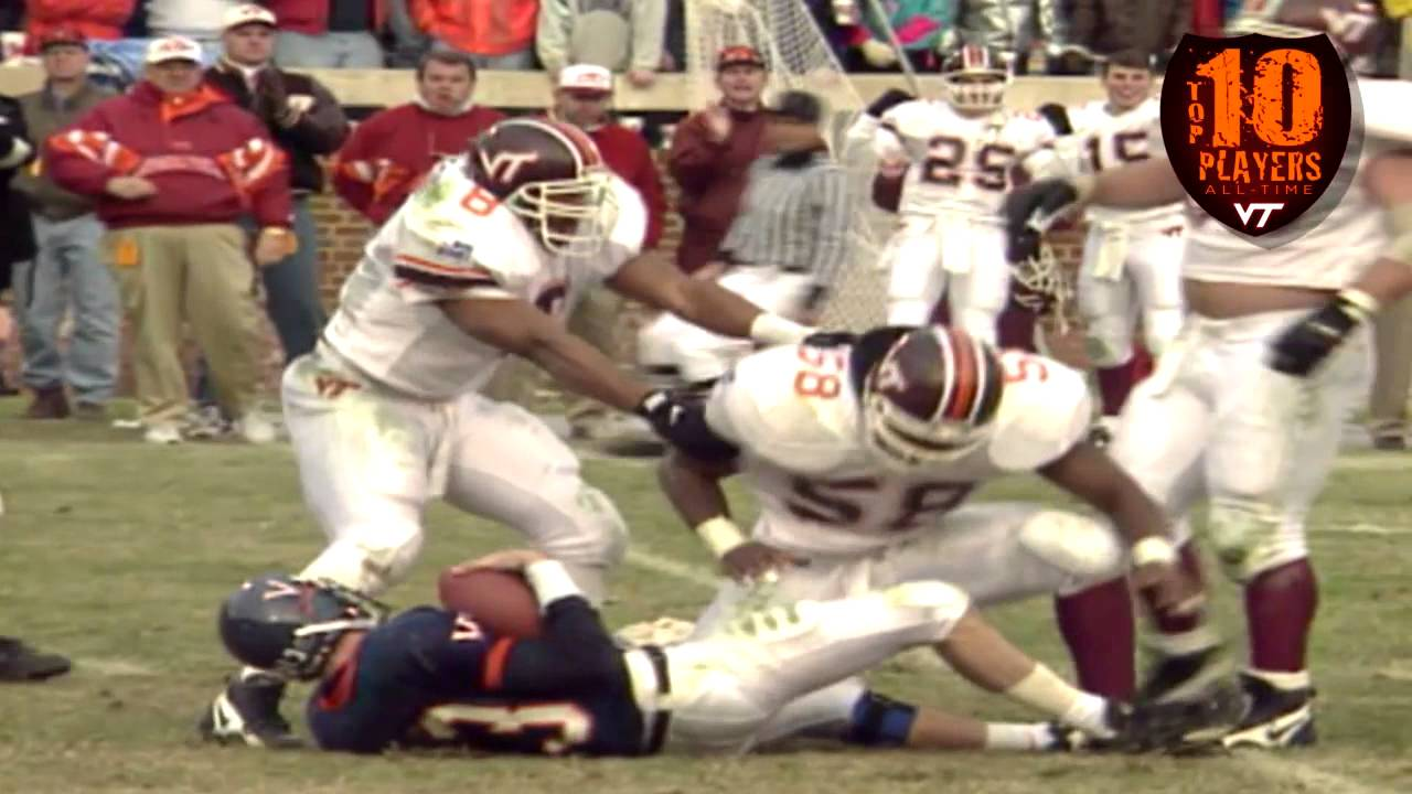 Top 10 Players In Virginia Tech Football History Youtube