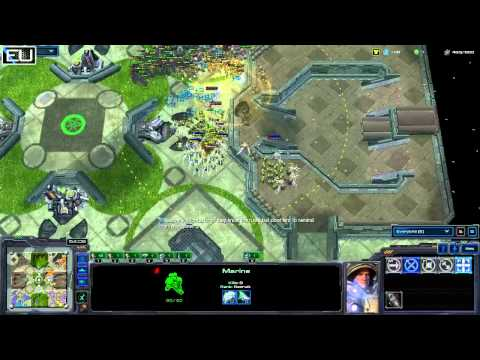 Starcraft 2 Marine Arena EU-6 Tournament Grand Final!