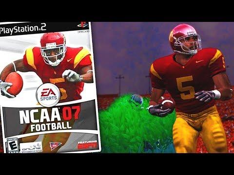 PLAYING NCAA FOOTBALL 07!!