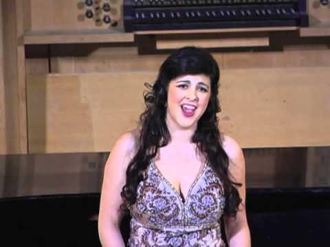 Jennifer Adler sings Douglas Moore