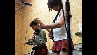 Gob Dylan, Glastonwick Festival, 2013. Crazy punk Bob Dylan covers band!