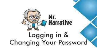 What is Mr. Narrative #2 - Logging in and Changing Password