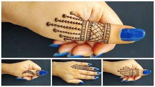 Cute mehndi designs | Simple mehandi design | Mehndi design | easy mehndi designs |