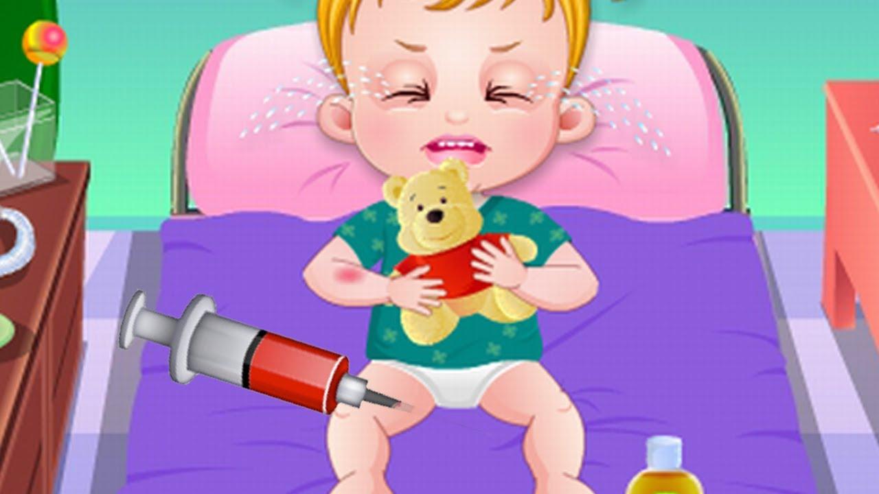 Game Baby Hazel Goes Sick | Baby Hazel Doctor Games | Baby Hazel Videos