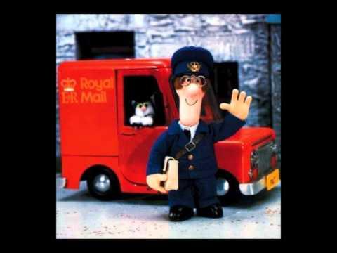 Postmann Pat. Norsk, med tekst